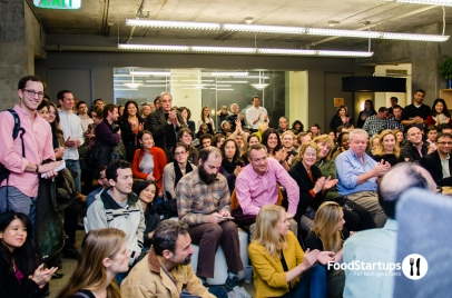 The crowd at January 10th fundraising panel